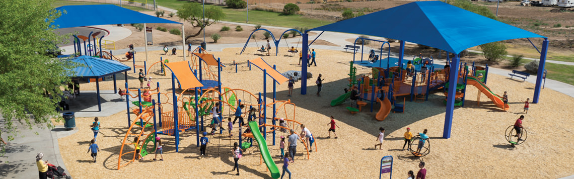 Playground design and installation